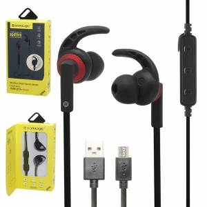 HEADSET BLUETOOTH SPORTS 4.2 HANDSFREE EARPHONE SQ-BT610 SUPER BASS