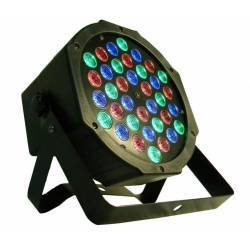 OEM ΦΩΤΟΡΥΘΜΙΚΟ RGB DMX 36 FLAT LED DISCO PAR-2