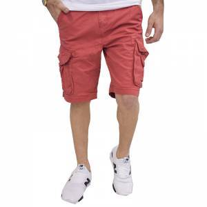 FUNKY BUDDHA ΒΕΡΜΟΥΔΑ CARGO SHORTS MEXICAN RED FBM001-03118