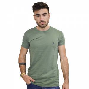 GARAGE 55 T-SHIRT KHAKI GAM201-04118