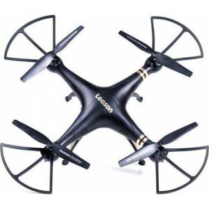 ΤΕΤΡΑΚΟΠΤΕΡΟ DRONE WIFI FPV 2.4GHz R/C – LEASON– LS-126 BLACK/GOLD