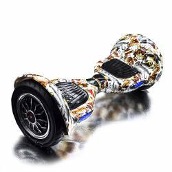 SMART BALANCE HOVERBOARD WHEEL BLUETOOTH & LED ΗΛΕΚΤΡΙΚΟ ΠΑΤΙΝΙ ROCK EDITION 10''