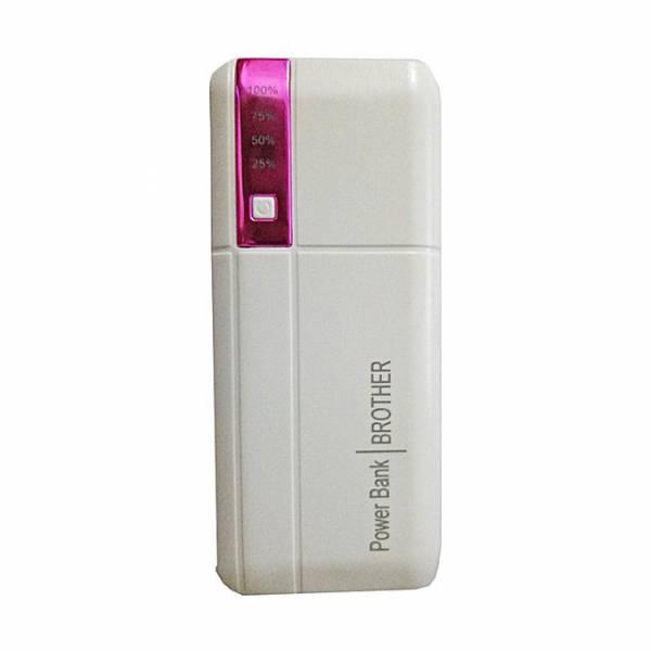 POWER BANK 5V/20000MAH ΜΕ 2 ΘΥΡΕΣ USB ΚΑΙ ΦΑΚΟ - ΡΟΖ- ΟΕΜ