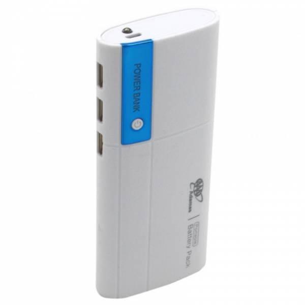 POWER BANK 5V/20000MAH ΜΕ 2 ΘΥΡΕΣ USB ΚΑΙ ΦΑΚΟ - ΓΑΛΑΖΙΟ - ΟΕΜ