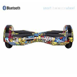 """HIP-HOP 8"""" RACING PERFORMANCE HOVERBOARD WITH BLUETOOTH AND LIGHTS SMART BALANCE WHEEL"""