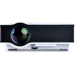 MINI LED PROJECTOR UC40 PLUS 800 LUMENS VGA/HDMI 800x480p