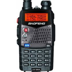 BAOFENG ΑΣΥΡΜΑΤΟΣ DUAL BAND ΠΟΜΠΟΔΕΚΤΗΣ VHF/UHF ΜΕ ΜΙΚΡΟΑΚΟΥΣΤΙΚΟ HANDS FREE 5.8W UV-5RA