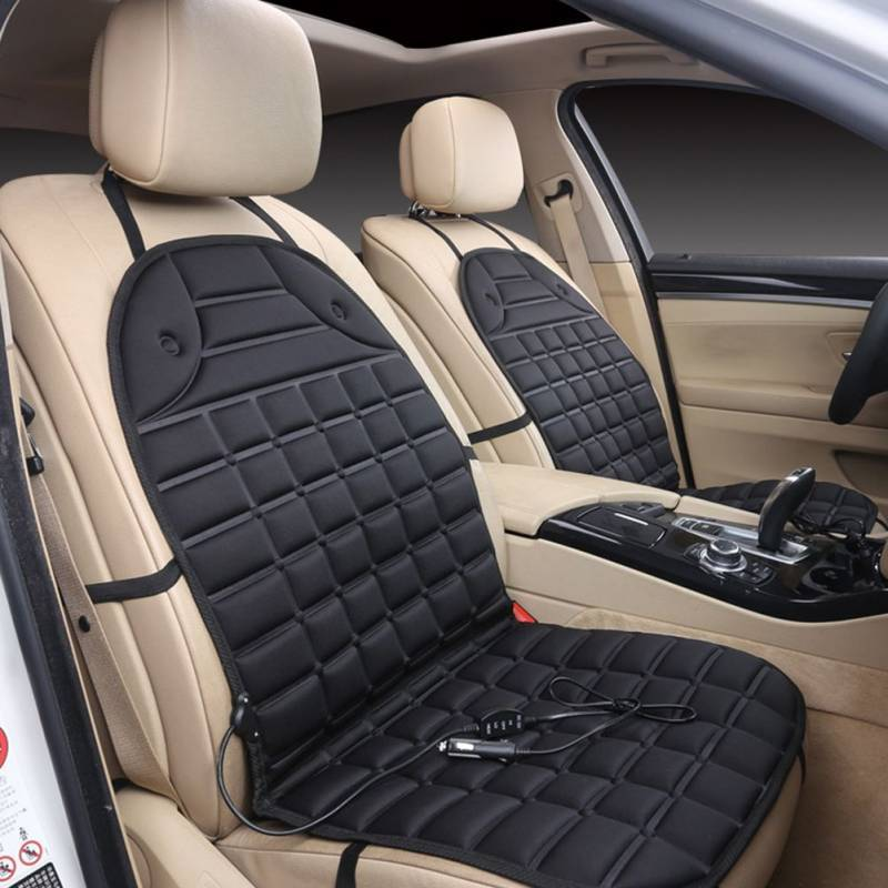 Zone Tech Cooling Car Seat Cushion Installation