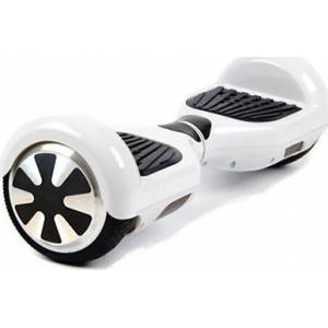 SMART BALANCE HOVERBOARD WHEEL WITH BLUETOOTH & LED ΗΛΕΚΤΡΙΚΟ ΠΑΤΙΝΙ WHITE P5 6.5''
