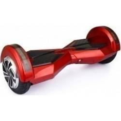 """SMART BALANCE HOVERBOARD WHEEL WITH BLUETOOTH & LED ΗΛΕΚΤΡΙΚΟ ΠΑΤΙΝΙ RED 8"""""""