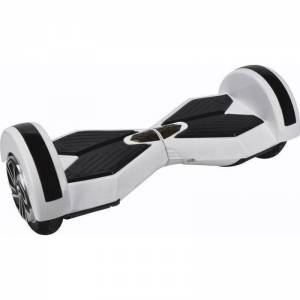 SMART BALANCE HOVERBOARD WHEEL WITH BLUETOOTH & LED ΗΛΕΚΤΡΙΚΟ ΠΑΤΙΝΙ LAMBORGHINI WHITE 8''