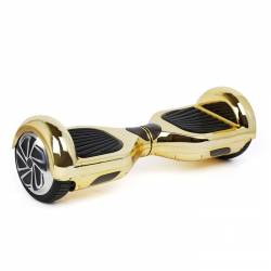 SMART BALANCE HOVERBOARD TRANSFORMERS WHEEL WITH BLUETOOTH & LED ΗΛΕΚΤΡΙΚΟ ΠΑΤΙΝΙ METALLIC GOLD 6.5""