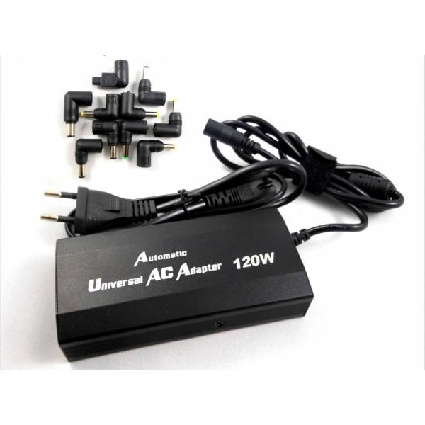 ΤΡΟΦΟΔΟΤΙΚΟ ΛΑΠΤΟΠ -NOTEBOOK AUTOMATIC UNIVERSAL AC ADAPTER 120W