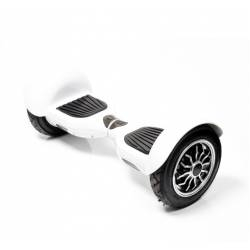 SMART BALANCE HOVERBOARD WHEEL WITH BLUETOOTH & LED ΗΛΕΚΤΡΙΚΟ ΠΑΤΙΝΙ WHITE 10""
