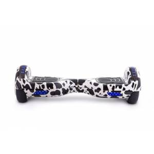 SMART BALANCE HOVERBOARD WHEEL WITH BLUETOOTH & LED DALMATIAN 6.5''