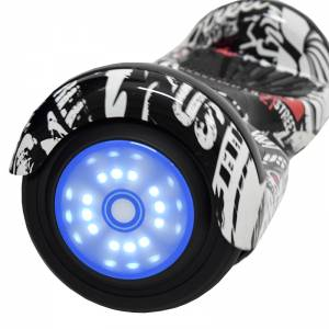 SMART BALANCE HOVERBOARD WHEEL WITH BLUETOOTH & LED GRAFFITI PIRATES 6.5'' LIMITED EDITION