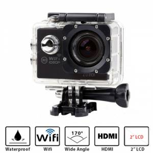 ACTION CAMERA REMOTE WIFI 1080 FULL HD DV 2-Inch LTPS LCD 30M OEM