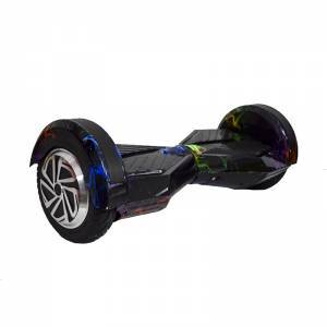 SMART BALANCE HOVERBOARD WHEEL WITH BLUETOOTH & LED ΗΛΕΚΤΡΙΚΟ ΠΑΤΙΝΙ BLACK LIGHTING YELLOW RED THUNDER 8