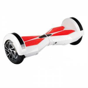 SMART BALANCE HOVERBOARD WHEEL WITH BLUETOOTH & LED ΗΛΕΚΤΡΙΚΟ ΠΑΤΙΝΙ LAMBORGHINI WHITE & RED 8