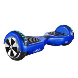 SMART BALANCE HOVERBOARD WHEEL WITH BLUETOOTH & LED ΗΛΕΚΤΡΙΚΟ ΠΑΤΙΝΙ BLUE 6.5'' P5B