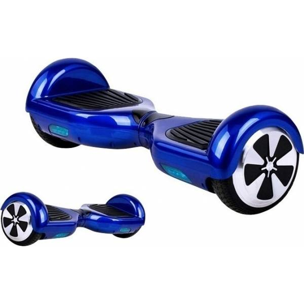"""KIKKABOO HOVERBOARD WHEEL WITH BLUETOOTH & LED ΗΛΕΚΤΡΙΚΟ ΠΑΤΙΝΙ BLUE 6,5"""""""