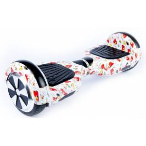 SMART BALANCE HOVERBOARD WHEEL WITH BLUETOOTH & LED ΗΛΕΚΤΡΙΚΟ ΠΑΤΙΝΙ ANGLY BIRDS PREMIUM EDITION 6.5''