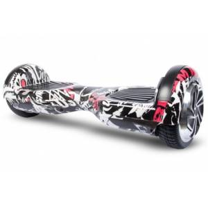 SMART BALANCE HOVERBOARD WHEEL WITH BLUETOOTH & LED GRAFFITI PIRATES 6.5''