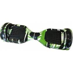 SMART BALANCE HOVERBOARD WHEEL WITH BLUETOOTH & LED ΗΛΕΚΤΡΙΚΟ ΠΑΤΙΝΙ GREEN ART M-S67 6.5''