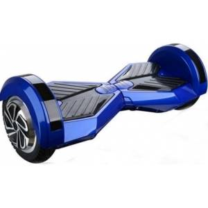 SMART BALANCE HOVERBOARD WHEEL WITH BLUETOOTH & LED ΗΛΕΚΤΡΙΚΟ ΠΑΤΙΝΙ BLACK/BLUE P7C 8""