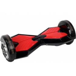 """SMART BALANCE HOVERBOARD WHEEL WITH BLUETOOTH & LED ΗΛΕΚΤΡΙΚΟ ΠΑΤΙΝΙ BLACK/RED HB45  8"""""""