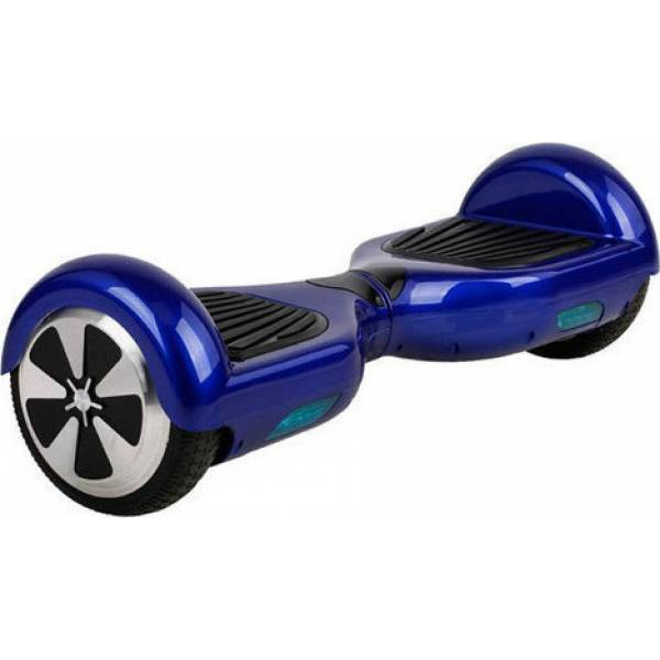 """HOVERBOARD TRANSFORMERS WHEEL WITH BLUETOOTH & LED ΗΛΕΚΤΡΙΚΟ ΠΑΤΙΝΙ ΙΣΟΡΡΟΠΙΑΣ BLUE HB-40 6.5"""""""