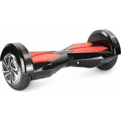 SMART BALANCE HOVERBOARD WHEEL WITH BLUETOOTH & LED ΗΛΕΚΤΡΙΚΟ ΠΑΤΙΝΙ BLACK/RED P7 8""