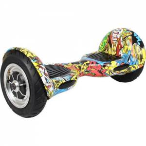 SMART BALANCE HOVERBOARD WHEEL WITH BLUETOOTH & LED ΗΛΕΚΤΡΙΚΟ ΠΑΤΙΝΙ GRAFFITI 10""